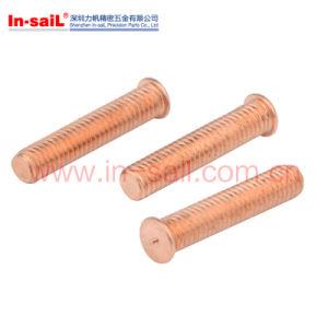 Copper Plated Steel Spot Weldingstud Screw pictures & photos