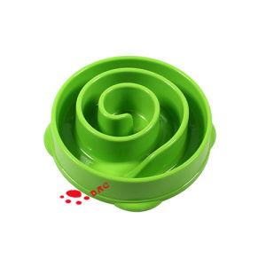 Whirlpool&Nbsp; Shape Maze Design Slow Feeder Pets Bowls pictures & photos