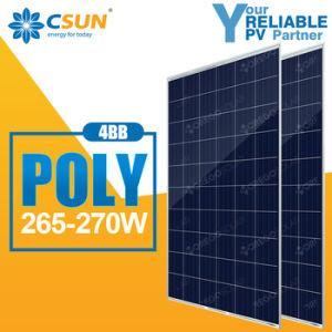 Csun Poly Solar Panel (cell) 265W-270W Solar Module pictures & photos