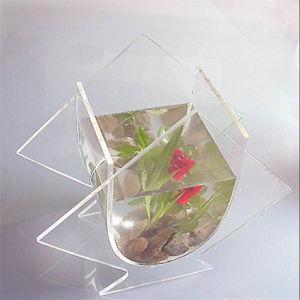 Wall Mounted Fish Bowl 5 Gallon Acrylic Mini Tank pictures & photos
