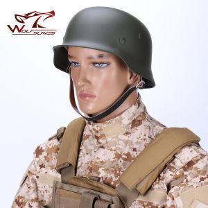 Tactical Combat German Mod M35 Luftwaffe Stiff Steel Helmet pictures & photos