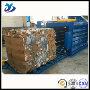 Cutting Efficiency Hydraulic Horizontal Baler pictures & photos