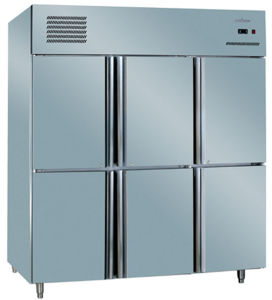 Cheering Commercial Six Door Freezer Refrigerator Ce Approved 1280L pictures & photos