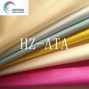 Light Weight Shiny Polyester Satin Fabric pictures & photos