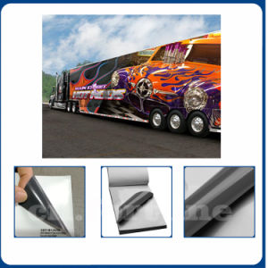 Factory Price Self Adhesive Vinyl Glossy Grey for Car Sticker Digital Printing pictures & photos
