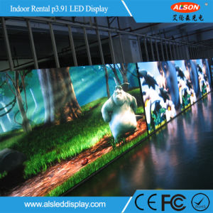 Indoor Full Color P3.91 Rental LED Display with Ce RoHS CCC pictures & photos