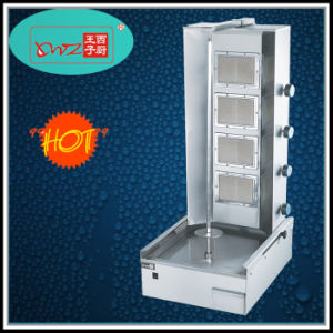 Factory Wholesale Commercial 4 Burners Gas Kebab Broiler Machine pictures & photos