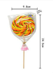 Rainbow Swirl Hard Lollipop Candy Confectionery pictures & photos
