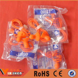 Cheap Noise Cancelling Silicone Ear Plugs pictures & photos