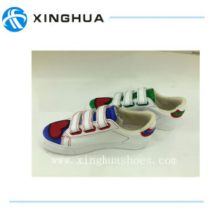 Magic Tape Canvas Shoes for Supplier pictures & photos