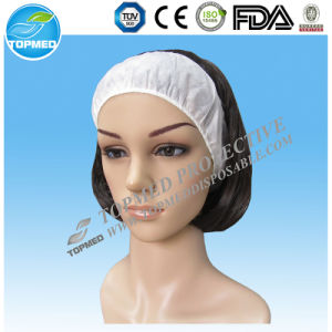 Disposable SPA Hair Clamp Elastic Hair Band with Logo Printing pictures & photos