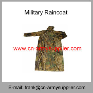 Camouflage Raincoat-Army Raincoat-Police Raincoat-Military Poncho-Military Raincoat pictures & photos