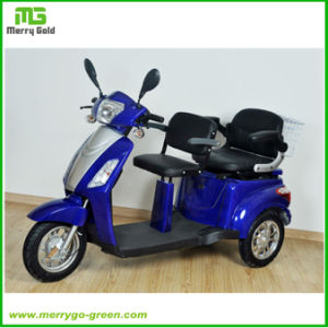 48V 500W Three Wheel Electric Mobility Scooter for Elderly People pictures & photos