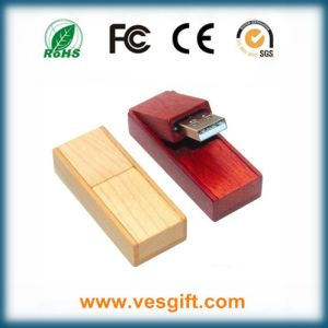 USB Key Flash Driver Gadget Wood Pendrive Flash Memory pictures & photos