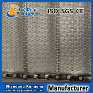 Manufacturer 304/316 Flat Conventional Wire Mesh Belt pictures & photos