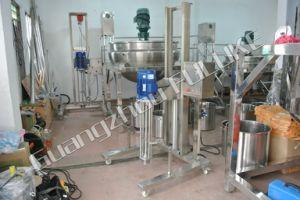 Guangzhou Fuluke Lift Homogenizer Disperser Blending Mixer Emulsifier pictures & photos