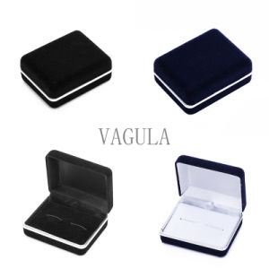 VAGULA Jewelry Display Ring Box Tie Clip Box Cufflinks Case 18 pictures & photos