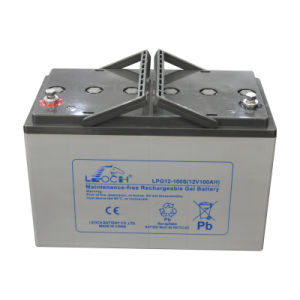 12V 100ah High Discharge Rate Solar Battery for Solar Systems pictures & photos