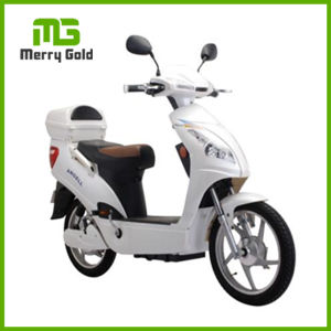 48V 500W Brushless Motor Front Suspension Electric Motorcycle with Pedals pictures & photos