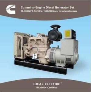 Cummins Generator (Diesel genset) Cummins-Engine 50/60Hz pictures & photos