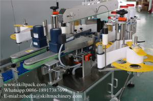 Automaitc Adhesive Sticker Front Back Two Sdies Labeling Machine pictures & photos