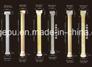 Decorative Polyurethane PU Foam Roman Colums Roman Pillar pictures & photos