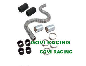 Flexibl Stainless Steel Radiator Hose Kits 20′′ Polished End Cover pictures & photos