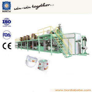 Semi Servo Automatic Baby Diaper Machine Bnt-Bd-03