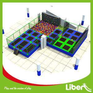 with Climbing Wall Kids Foam Pit Trampoline Park Supplier pictures & photos