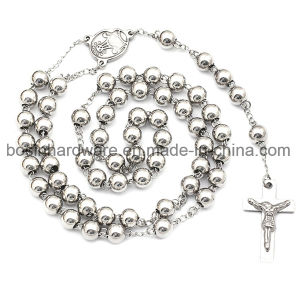 Stainless Steel Cross Rosary Chain for Church pictures & photos