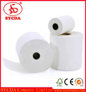 Smoothly Cut Good Printing 80mm Thermal Paper pictures & photos