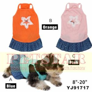 Dog Dress; Classic Retro Polka DOT Dog Dress8-20′ Yj91717 pictures & photos