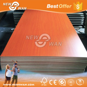 Fiberboard Raw Plain / Melamine MDF Board 9mm - 18mm Thickness pictures & photos