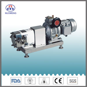 Sanitary Stainless Steel Rotor Pump with Motor pictures & photos