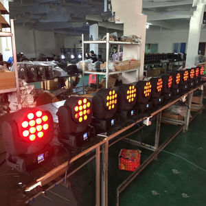 12PCS RGBW 4in1 LED Mini Moving Head Beam 12W RGBW pictures & photos
