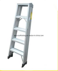 Folding Aluminum Material Ladder Step Latter Fiberglass pictures & photos