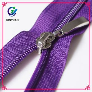 Nylon Zipper Open-End with Auto-Lock Normal Slider pictures & photos