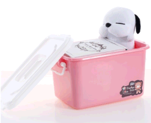 Small Size Transparent Plastic Storage Box Household Plastic Food Container Gift Box Toys Box (5L) pictures & photos