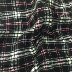 Stock Wool Fabric Check Yarn-Dyed pictures & photos