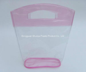 OEM Color PVC Handle Bag for Packing pictures & photos