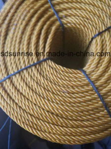 Yellow PE Rope Made in Recycled Material pictures & photos