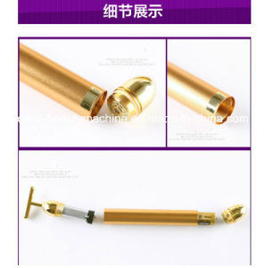 24k Gold Beauty Bar Facial Roller Derma Skincare Antiage Treatment pictures & photos