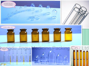 20ml Borosilicate Amber Glass Vial for Pharmaceutical Container pictures & photos