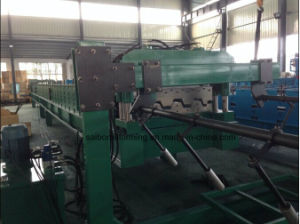 Yx100-880 Metal Deck Roll Forming Machine with Auto Stacker pictures & photos