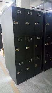 18 Doors Locker with 3 Bays 6 Tiers pictures & photos