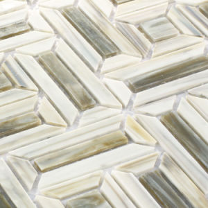 Bathroom Wall Border Tiles Stained Glass Mosaic with Factory Price pictures & photos