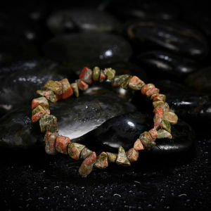 Hot Sale Unakite Crystal Fashion Bracelet pictures & photos
