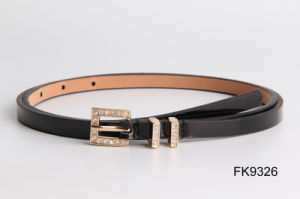 Ladies Fashion PU Waist Belts, Fashion Accessories Women Belt with Pin Buckle pictures & photos