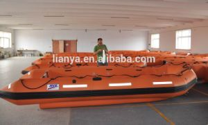 Liya 3.8-7.0m Inflatable Refugee Boat Rescue Boat Transport Boat for Sale pictures & photos