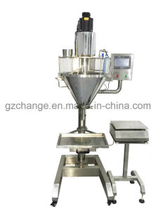 Body Protein Soyben Milk Spice Powder Weighting and Filling Machine pictures & photos